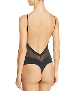 Fine Lines - Low Back Convertible Bodysuit